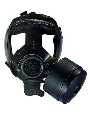 MSA Millennium Gas Mask Respirator w/ Drink Tube CBRN 40mm NATO Medium- NEW