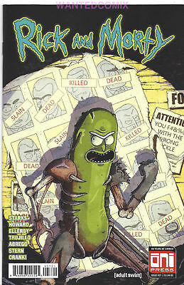 Rick & Morty #37 Cover B Vasquez Variant Cover X-Men 141 Homage Pickle New 1