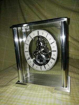 Marks and Spencers Skeleton Clock  ms1