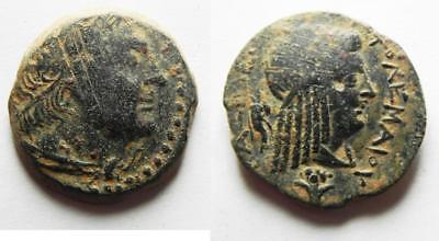 ZURQIEH -as8989- PTOLEMAIC KINGS of EGYPT. Ptolemy III Euergetes(?). 246-222 BC.