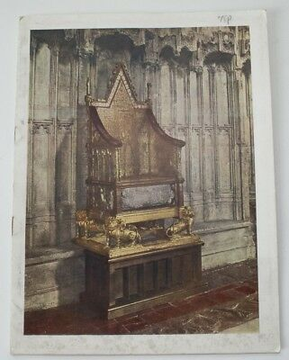 Rare 1937 Programme of the Coronation Day of Intercession & Conference George VI