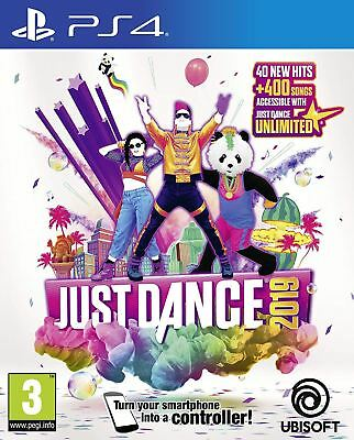 Just Dance 2019 Ps4 Game (English/Nordic Box)