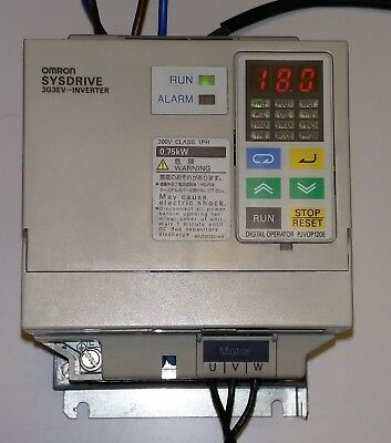 Omron Inverter 3G3EV-AB007-CE (Very Good Condition)