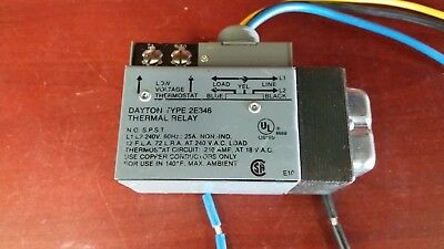 24 VAC Thermal Relay WHITE RODGERS 24A01G-3 (Never Used Surplus)