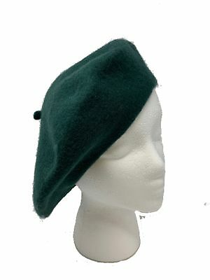 BLACK WOOL BERET US Made Army Issue DSCP Garrison Collection ... 815eeb416