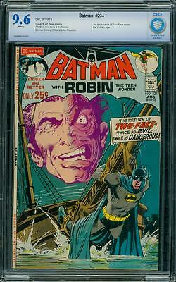 Batman 234 CBCS 9.6 WP Silver Age Key DC Comic 1st App of Two Face Like CGC L@@K
