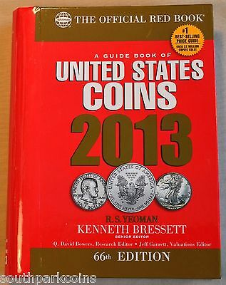 2013 Hidden Spiral Redbook - The Official Guide Book Of United States Coins
