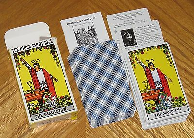 Rider Waite 78 Card Tarot Deck - The Magician - Made in Italy