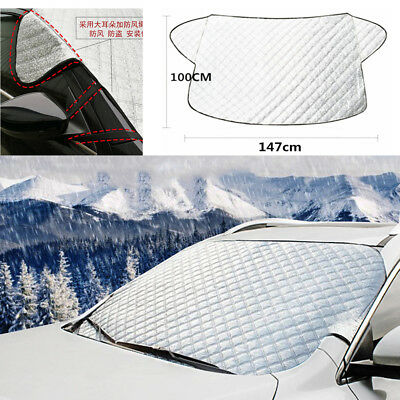 WINDSCREEN COVER Magnetic Car Window Screen Frost Ice Large Snow Dust Protector-