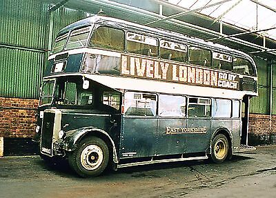 EYMS East Yorkshire Motor Services BET NBC Buses Sets 10 6x4 Colour/BW photos