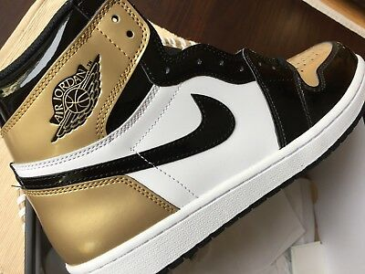 premium selection 8c38e 74e27 Nike AIR JORDAN 1 RETRO HIGH OG ENERGY   GOLD TOP 3   Gr. 44
