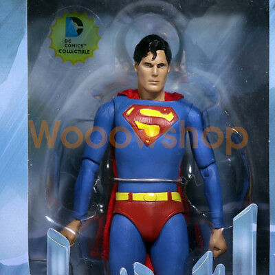 "NECA Superman Classic Movie 1978 7"" Action Figure Christopher DC Collection 1:12"