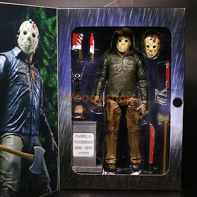 """NECA Friday The 13th Final Chapter Jason Voorhees 7"""" Action Figure Part 4 2017"""