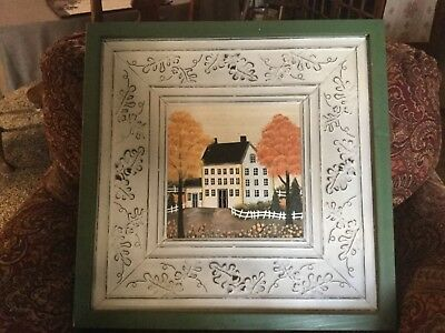 "Antique Tin Ceiling Tile Art ""Vintage East Coast"""