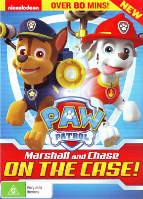 Paw Patrol: Marshall and Chase - On the Case!  - DVD - NEW Region 4