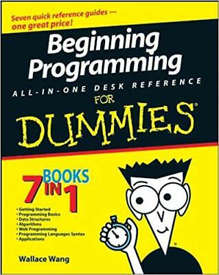 [PDF] Beginning Programming All-in-One for Dummies - Wallace Wang (Digital Book)
