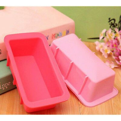 rectangle silicone non stick bread loaf mold bakeware baking pan oven mould Pip