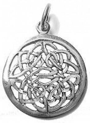 LOOK Celtic Infinity Knot Charm Sterling Silver .925 jewelry