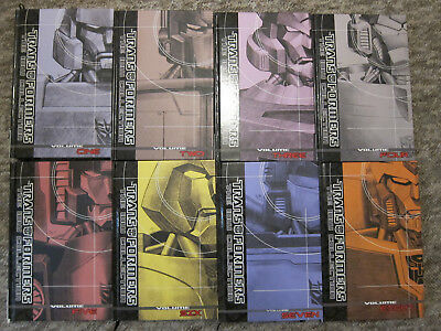 Transformers IDW Phase 1 Hardback Collections 1-8