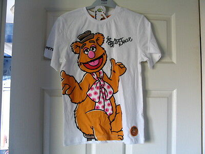 Disney Store Fozzie Bear T Shirt The Muppets Age 7/8 Brand New Last One