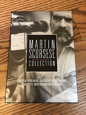 Martin Scorsese Collection (5-Pack) (DVD, 2004, 5-Disc Set) Free Shipping!