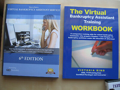 COMPLETE Virtual Bankruptcy Assistant TRAINING COURSE MAKE $50-$100 AN HOUR