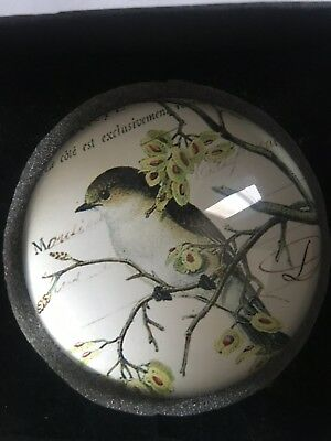 Antique Vintage Collectibe Bird Weight