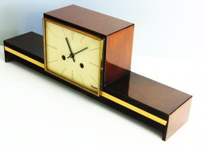 A Dream  Later Art Deco Chiming Mantel Clock From Hermle