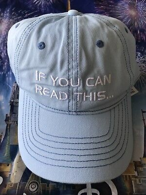 Disney Parks Epcot If You Can Read This Thank The Phoenicians Baseball Cap Hat