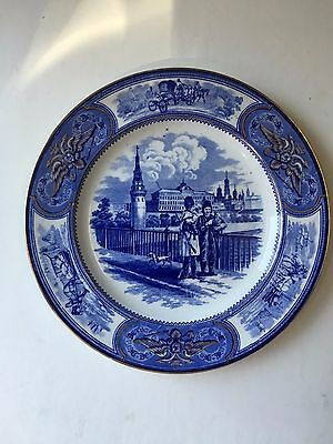 Antique 19th Century Russian Porcelain Plate by Wedgwood for Russian Market