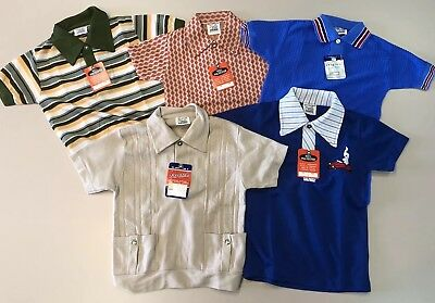 Vintage 1960s Toddler Lot Retro NOS NWT Rare Shirt Boys Girls Kids 2T 3T 4T Mod