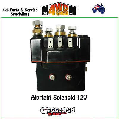 NEW WINCH SOLENOID for WARN 12 VOLT HEAVY DUTY 440262 546-033 1231A WS487 15-487