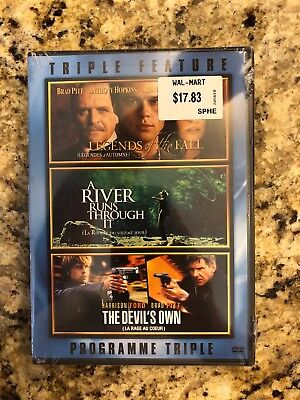 Legends of the Fall, A River Runs Through it, The Devil's Own (DVD 2007) NEW!