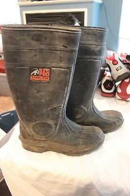 250edea2e52 MEN'S SFC PRO Steel Toe Waterproof Work Boots Size 9