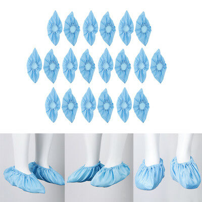 Perfeclan 10Pairs Reusable Antistatic Workshop Shoe Cover Overshoe Protector