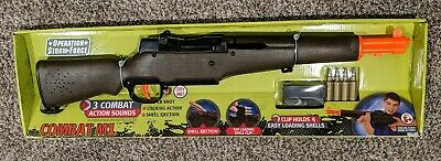 Buzz Bee Toys Combat M1 Garand CMP toy rifle Winchester Springfield WWII COD NEW