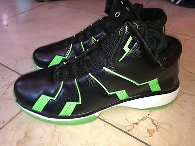 bea211ec099 NEW APL Athletic Propulsion Labs Concept 2 Basketball Black Lime Green sz 17