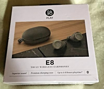 Bang & Olufsen Beoplay E8 Premium Truly Wireless Bluetooth Earphones Charcoal