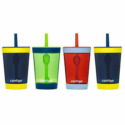 Contigo Spill-Proof 14oz Tumbler, 4-pack - Blue - Free Shipping