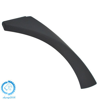 Right Inner Door Panel Handle Outer Trim Cover for BMW E90 3-Series Black