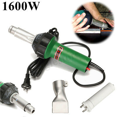 1600W Hot Air Torch Plastic Welding Gun Weld Pistol  Set AC 220V 50/60Hz USA