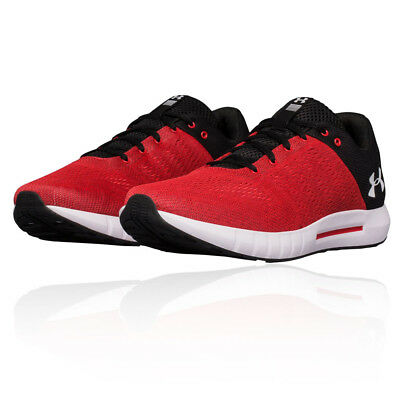 Under Armour Mens Micro G Pursuit Running Shoes Trainers Sneakers Red Sports