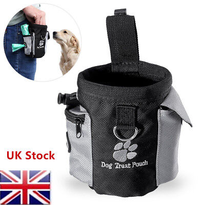 Puppy Pet Dog Obedience Walking Training Treat Pouch Food Snack Waist Belt Bags