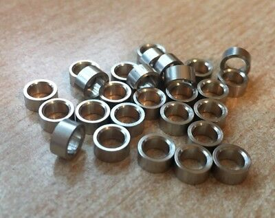 M4 x 3mm  Round  Standoff  Spacer   Female - Female  Spacer Brass Nickel  Z2807