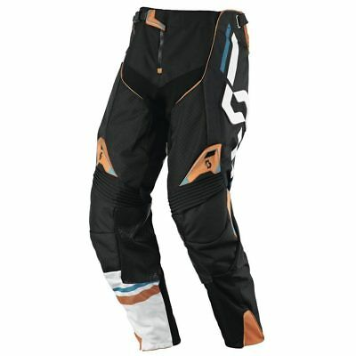 Scott 450 Track Cross Hose schwarz orange 34 Motocross Enduro Pant