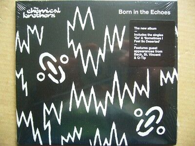New/Sealed CD: Chemical Brothers - Born In The Echoes: with Beck, Q-Tip