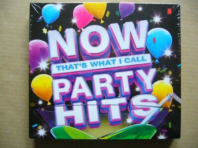 New/Sealed: Now That's What I Call Party Hits; 3 x CD - Great Xmas Party Music