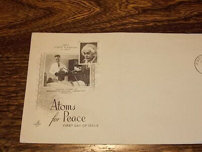 Atoms for Peace Envelope stamped First Day of ISSUE