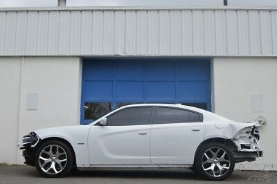 2016 Dodge Charger R/T Repairable Rebuildable Salvage Lot Drives Great Project Builder Fixer Easy Fix