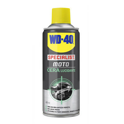 Wd-40 Specialist Moto Cera Lucidante 400 Ml Spray Ultra Brillante